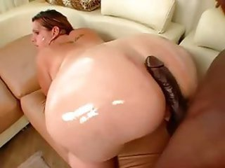 Ass   Interracial  Oiled