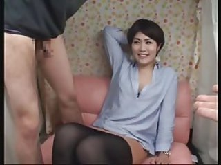 Asian Japanese  Pantyhose Wife