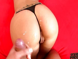 Real amazing ass cum shot compilation