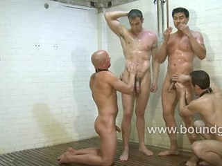 Slaves Serving Spencer And Van I...