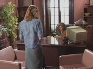 Lesbian  Office Old and Young Secretary Teen