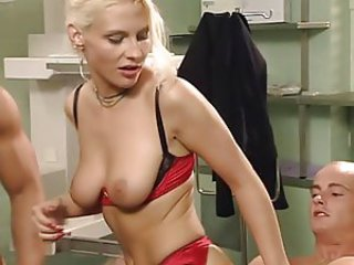 Doctor European German Lingerie   Threesome
