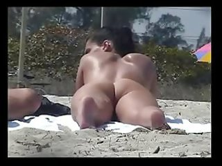 Nude Beach - Hot Exhibitionist Babes