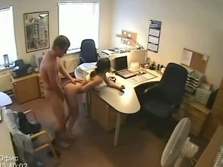 Secretary Fucking Security Camer...