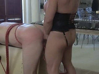 Muscle bitch restraints him in the matter of and fucks him