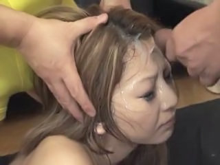 Asian Cumshot Facial