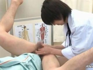 Asian Doctor Handjob Uniform