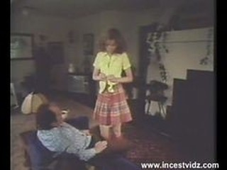 Daddy Daughter Old and Young Stripper Teen Vintage