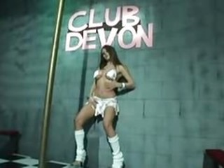 Babe Dancing Stripper