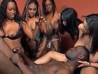 Alexis Silver, Angel Eyes and Friends Butt Fuck A Black Guy