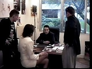 Gangbang  Office Secretary