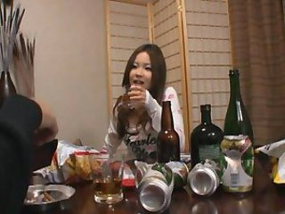 Asian Drunk Japanese Teen