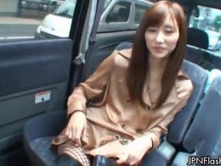 Asian Car Japanese Public Teen