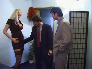"sexy german blonde loves double team by friends"" class=""th-mov"
