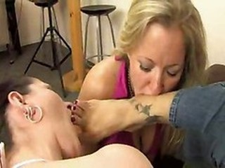 Asian Mistress With Their way Duo Footslave-girls