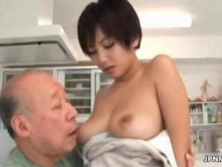 "Asian milf gets her tits sucked"" class=""th-mov"