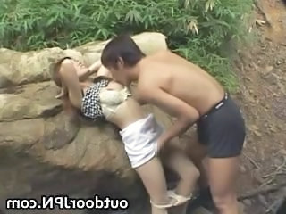 Amateur Asian Girlfriend Japanese Outdoor Public