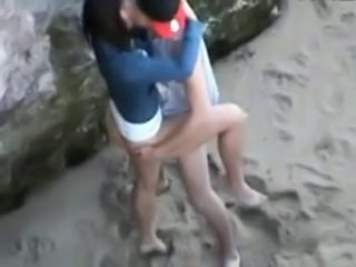 Beach Girlfriend Outdoor Voyeur