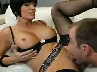 Amazing Big Tits Licking  Mom Old and Young Pornstar Stockings