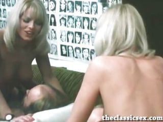 Beautiful retro blonde fucked...