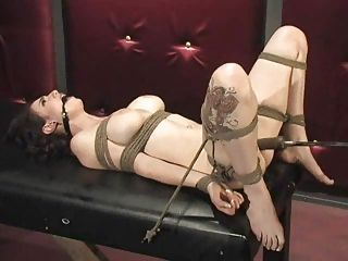 Bondage and fucking machines ...