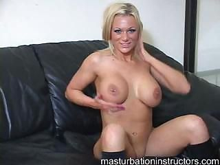 Blonde jerk off teacher is wi...