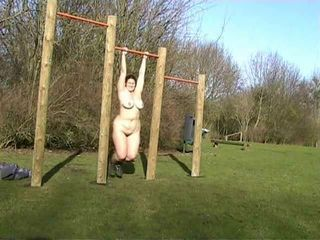 Amateur  Nudist Outdoor Public Sport Wife