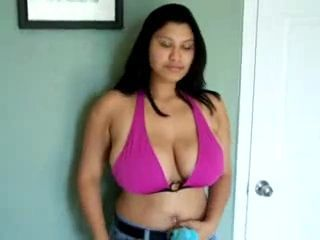Amateur Big Tits Latina  Natural Stripper
