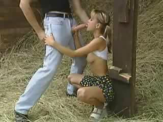 Blowjob European Farm German Teen