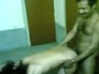 a indian prostitute enjoyed by 2 guys while the 3rd one recording it.