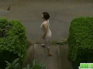 Asian Mature Outdoor Public