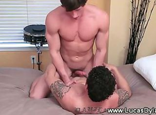 Clean bottom cock riding in the bedroom