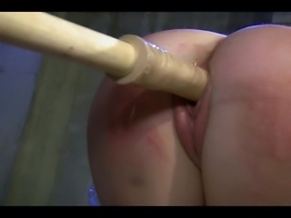 A Dom treats His captive submissive relative to some sound raising play!