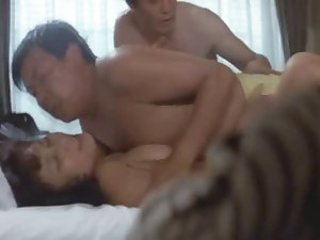 Hard Scandal Sex Drifter 1980 (Threesome erotic scene) MFM