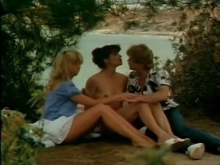 European German Outdoor Teen Threesome Vintage