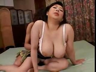 Asian Big Tits Japanese  Mom Natural Old and Young