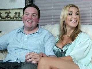 fat Scottish guy fucks a porn star