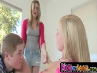 Fucking step daughter's boyfriend with Darryl Hannah and Bailey free