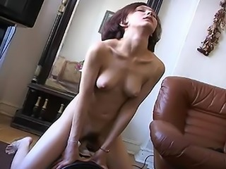 Lonely Russian youngster toys involving making love Machine there Bring Her...