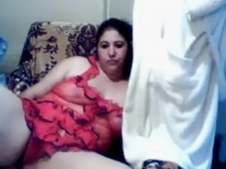 Amateur Arab Chubby Homemade Lingerie Mom