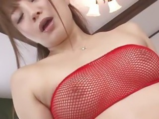 Asian Babe Fishnet Japanese
