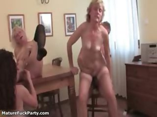 Nasty housewives go stupid riding an hard part4