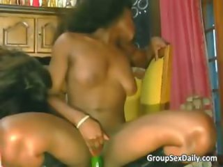 Two hot bitches are getting fucked part3