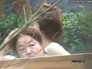 Asian Outdoor Voyeur