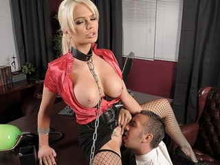 Big Tits Fetish Fishnet Licking  Office Pornstar Secretary