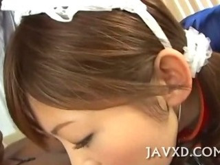 Asian Blowjob Japanese Maid