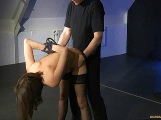 Slave Jallace Gets A Hard Fuck In All Chained