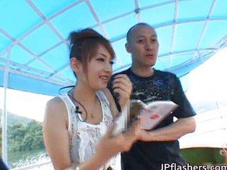 Asian Girlfriend Japanese Outdoor Public