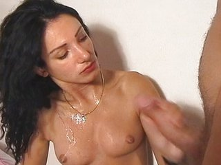 Cumshot European German Handjob Small Tits Teen