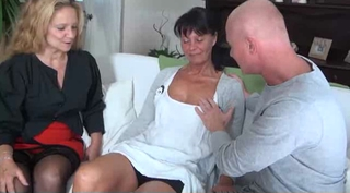 Mature Older Threesome